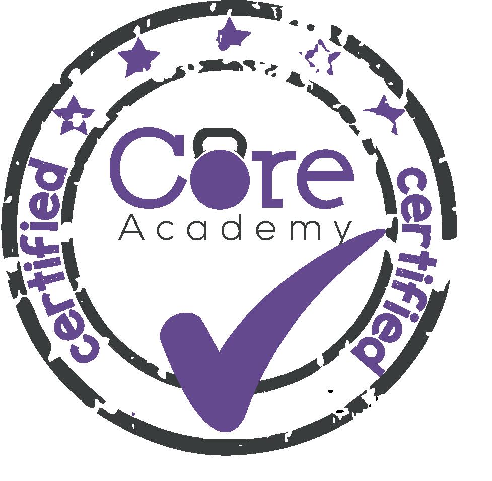 Logo Core Academy | Claudia de Loor Lifestyle